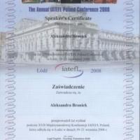 Przeprowadzenie wykładu podczas XVII Międzynarodowej Konferencji IATEFL PL