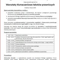 V Ogólnopolska Konferencja Prawa Podatkowego, przeprowadzenie wykładu pt.